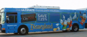 Disney Bus -_Design by Caliber Signs & Imaging