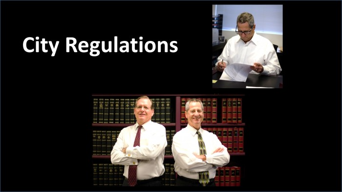Business Related City Regulations for California - Get Help from Experienced Local Attorneys