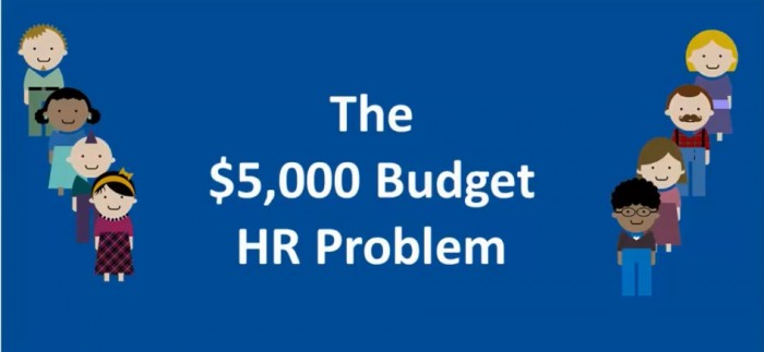Typically, an HR expert costs around 5000 dollars a month. Many small businesses cannot afford to hire one.